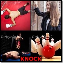 KNOCK- 4 Pics 1 Word Answers 3 Letters