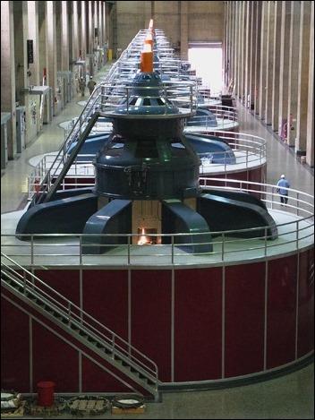 Hoover Dam power generators