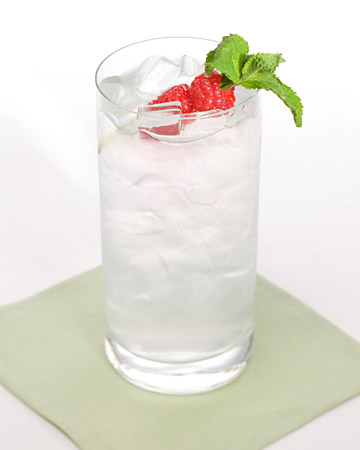 The recipe for a Winter Solstice cocktail on the Martha Stewart website is courtesy of Charles Corpion from The Four Seasons. This clear and tasty cocktail is perfect for serving guests at large parties