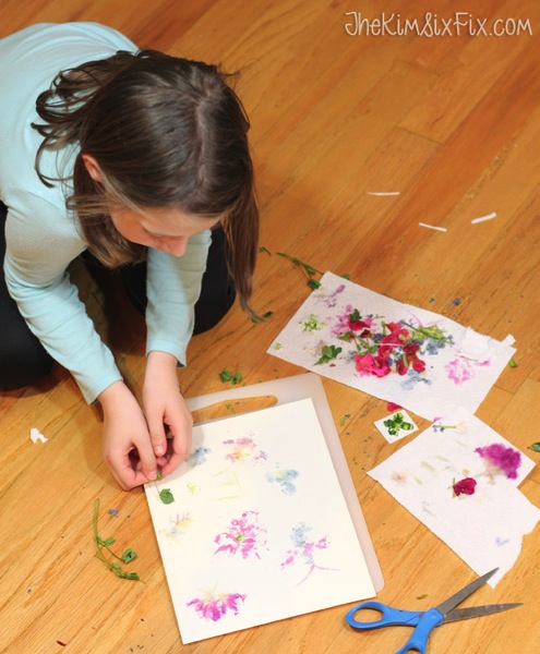 Childrens flower prints