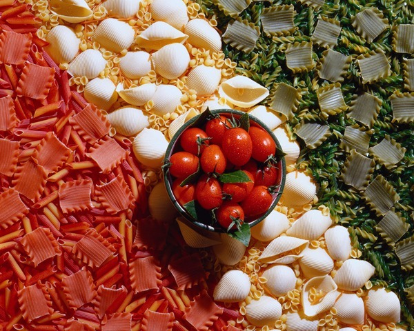 pasta tomatoes italian
