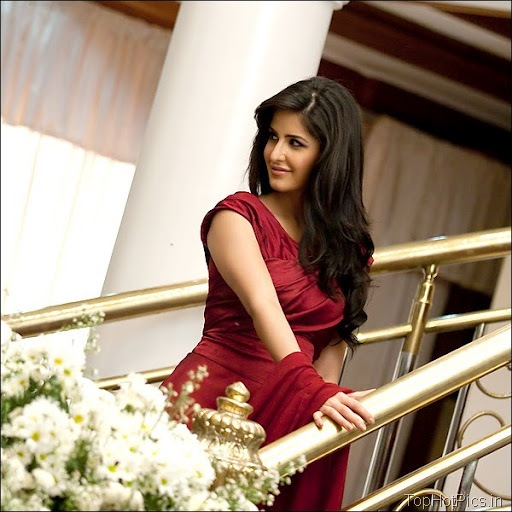 Katrina Kaif Hot Hd Pics in Red Dress 6