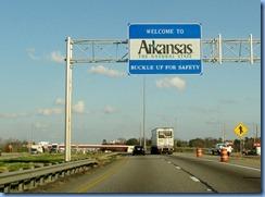 7398 Arkansas, Texarkana - I-30 East - Arkansas Welcome sign