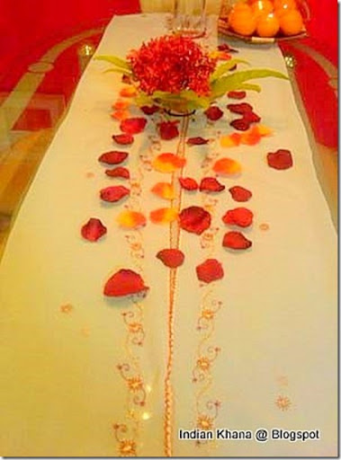 Perfect Diwali Interior Ideas for dinning table
