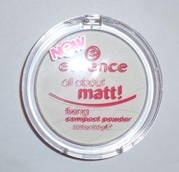 essence all about matt fixing powder