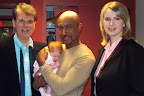 Douglas Hopkins, Baby Liliana Hopkins, Montel Williams, Dr. Oksana Katsuro-Hopkins.
