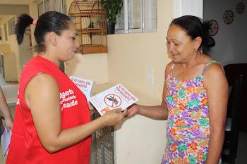 UBS São Marcos realiza ação contra a dengue