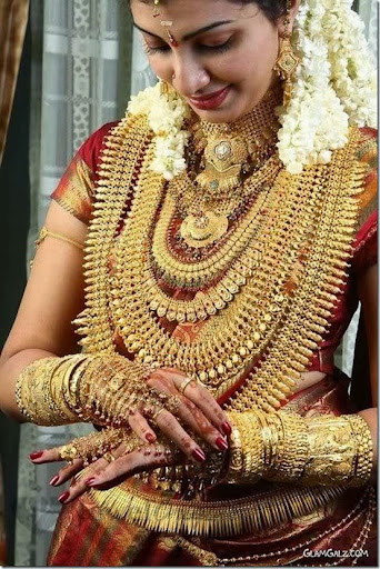 FASHION Indian Brides The Luster Of Golds And The Indian Bride