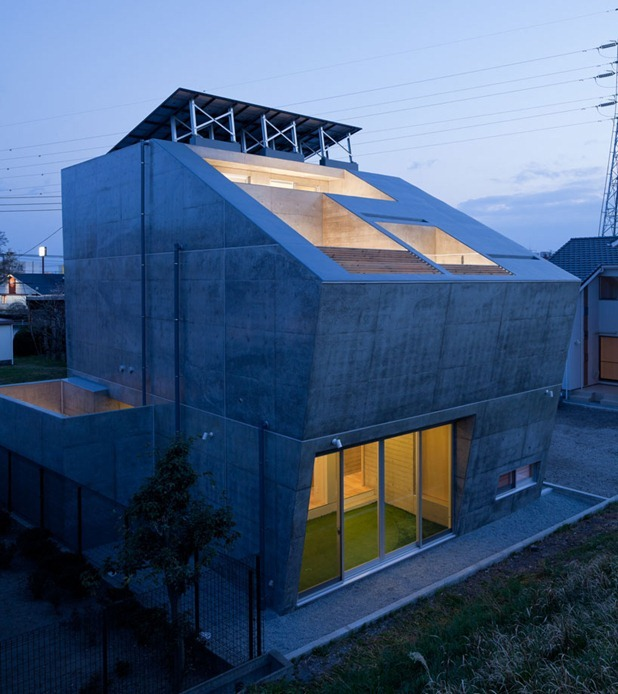 house in fuji by level architects 9