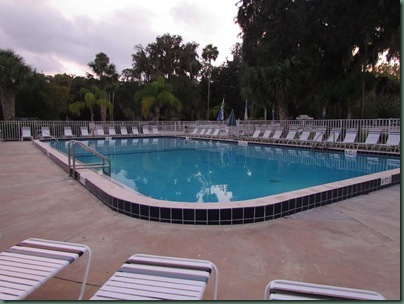 Bulow Plantation Rv Resort pool