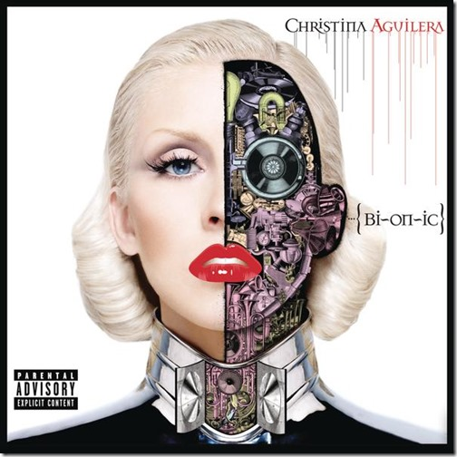 Cover Bionic Deluxe Version Christina Aguilera