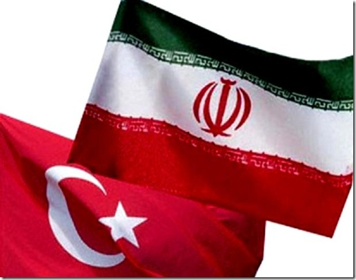 Turkey & Iran Flag