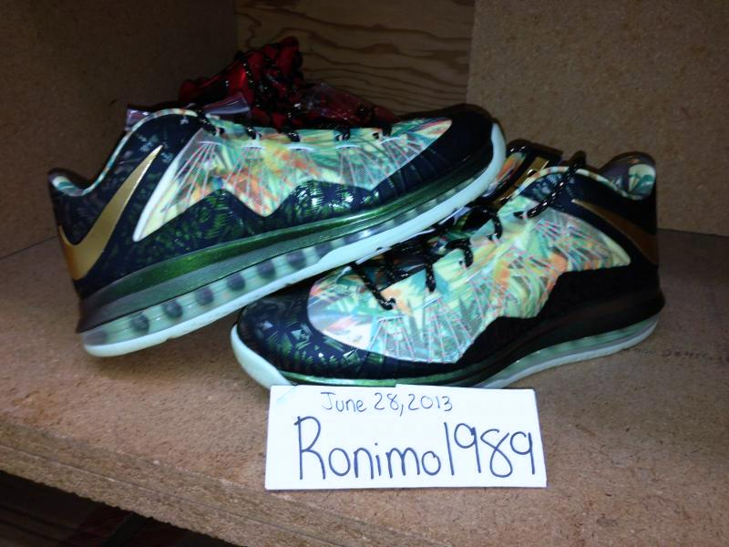 ... LeBron PS X Elite 038 Low 2Time Champion Pack Available on eBay ... 2c7e3cbb1