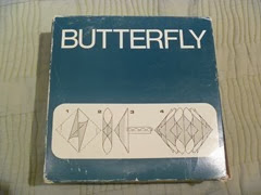 Butterfly lamp by Luminiere box back
