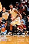 lebron james nba 130301 mia vs mem 07 LeBron Debuts Prism Xs As Miami Heat Win 13th Straight
