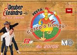 Deuber & Leandro no Trio Elétrico - Festa Cerca o Frango