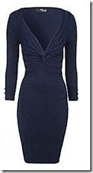 Jane Norman Twist Front Jumper Dress