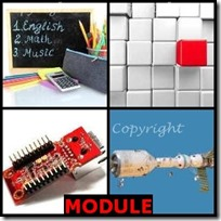 MODULE- 4 Pics 1 Word Answers 3 Letters