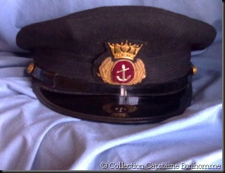 © Collection Capitaine Bonhomme. Casquette bm 1