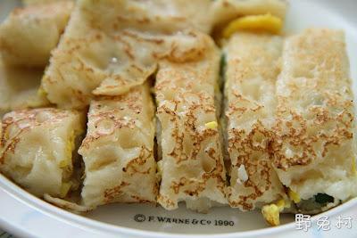 [臺南-美食] 古早味蛋餅-手工的簡單滋味