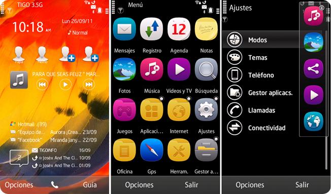 Symbian belle para S60v5