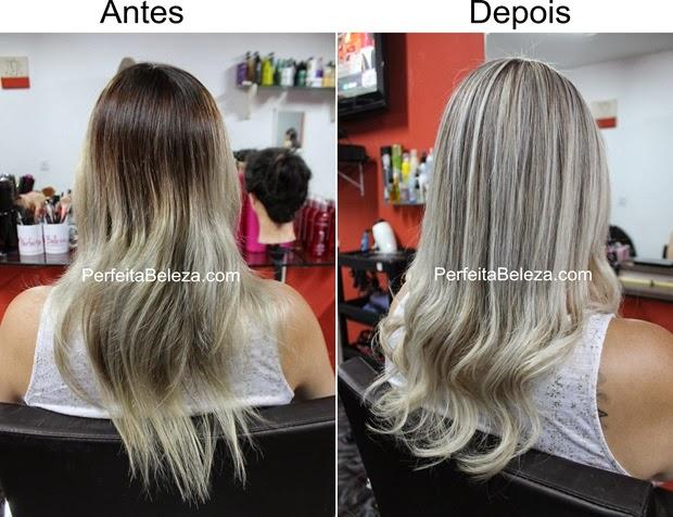 antes e depois de luzes, antes e depois de cauterização