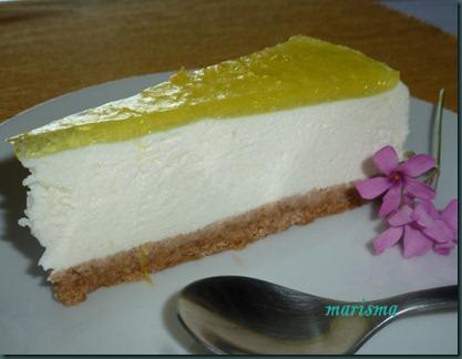 tarta de limon sin horno,racion1 copia