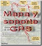 Mapa y soporte GPS - Ruta de la batalla de Abárzuza