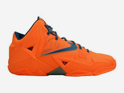 nike lebron 11 gr hardwood knicks 3 01 Nike LeBron XI Miami vs. Akron Coming out on February 7th