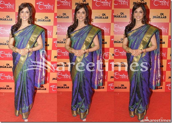 Isha_Koppikar_Bridal_Silk_Saree