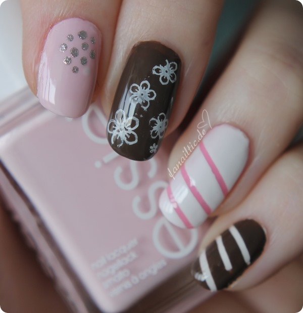 white day NOTD nailart