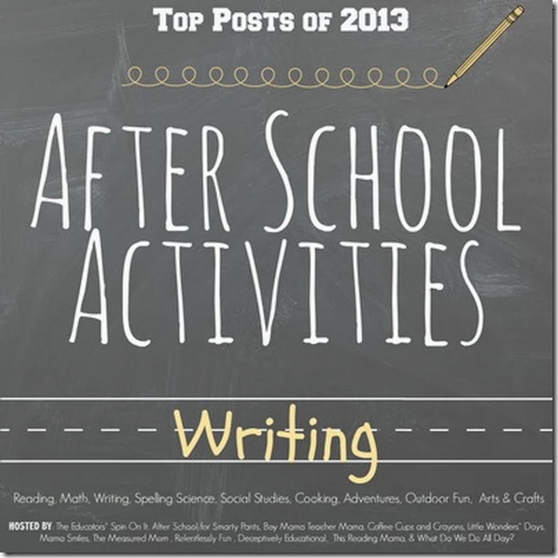 Top Writing Activities For After School: 2013