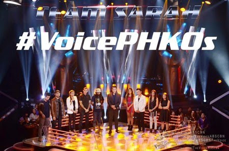 Team Sarah - The Voice PH 2 Knockout Rounds