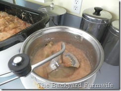 super easy applesauce - The Backyard Farmwife
