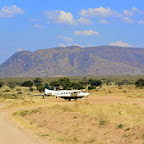 Ruaha River Lodge, Flugplatz mitten im Ruaha Nationalpark © Foto: Ulrike Pârvu | Outback Africa Erlebnisreisen