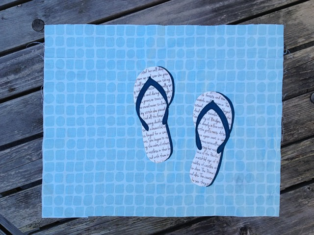 June Block Flipflops