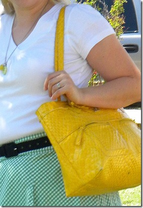 yellow purse pic 2