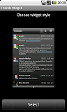 Launcher Pro widget friends