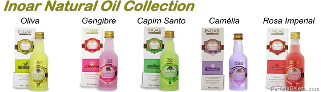 Inoar Natural Oil Collection