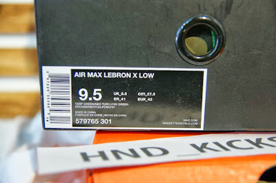 DSC05519 Release Reminder: Nike Air Max LeBron X Low Swamp Thing