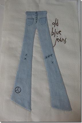 Jeans block