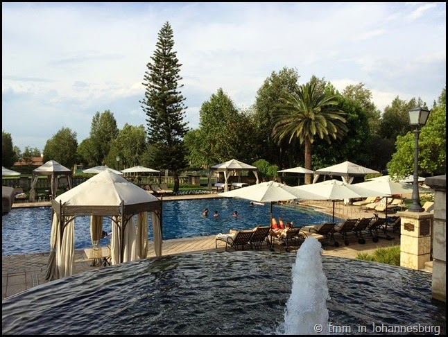 Pool area - Palazzo Montecasino