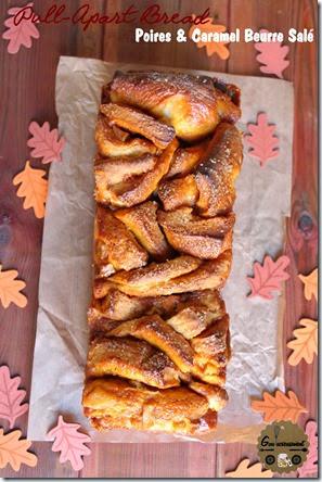 Pull-Apart Bread Poires & Caramel Beurre Salé 5