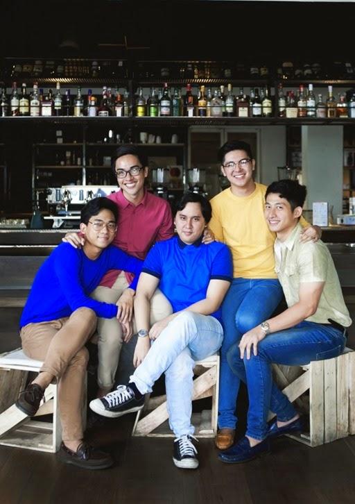 Franz Mayo, Jappy Posadas, Matthew Chan, Deric Dario, and Karlo Hernandez
