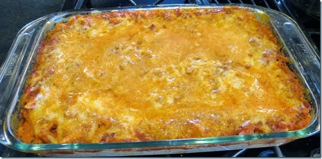 Creamy Baked Ziti 4-30-14
