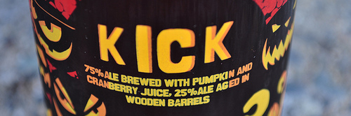 image of Kick from the New Belgium Lips of Faith series comes courtesy of our Flickr page