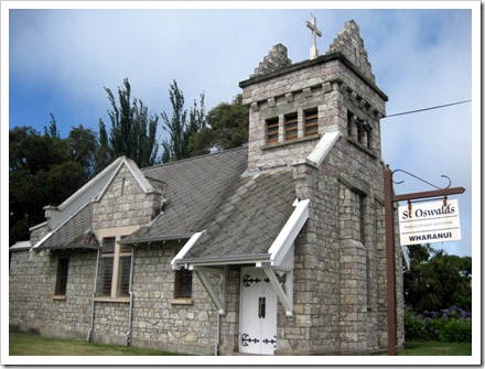St Oswalds. The benefactor built this in honour of their son who died in 1924 in Geneva.