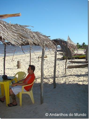 Barraca de Praia da Ilha de Croa Praia do Carro Quebrado