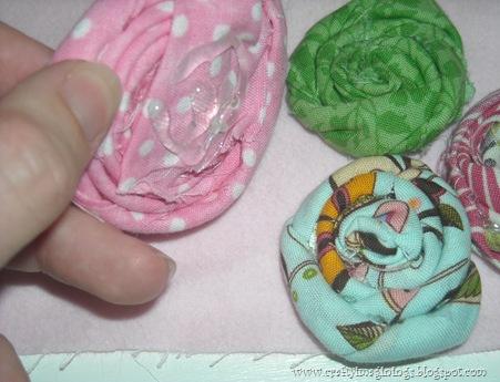 fabric rosettes 3