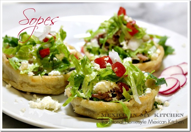 ... style refried beans vegan sopes with refried beans and salsa verde